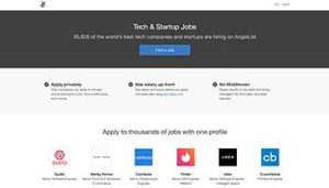 find tech jobs search angel